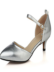 Women's Heels Spring Summer Other Leatherette Dress Stiletto Heel Others Pink Red Gray Silver Gold