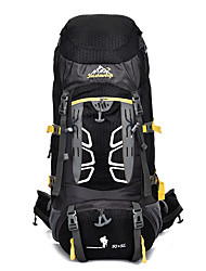 55L L Rucksack Hiking & Backpacking Pack External Frame Pack Climbing Traveling Snow Sports Camping & HikingWaterproof Wearable