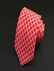 Krawatte ( Rot , Polyester ) Gitter