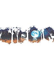 Animaux Mode Paysage Stickers muraux Autocollants avion Autocollants muraux 3D Autocollants muraux décoratifs,Vinyle MatérielDécoration