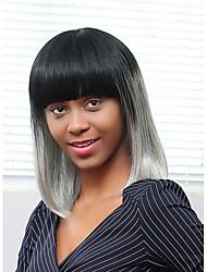 nuevo patrón de la peluca del pelo humano medio degradado de color que prevalece la longitud del cabello