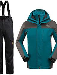 Herrn Winterjacken / Kleidungs-Sets/Anzüge Skifahren Wasserdicht / warm halten / Windundurchlässig WinterS / M / L / XL / XXL