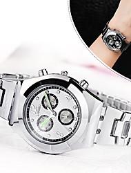 Women's Dress Watch Fashion Watch Simulated Diamond Watch Quartz / Imitation Diamond Alloy Band Casual Elegant Silver