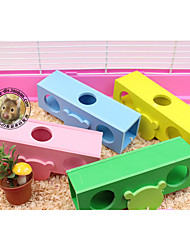Rodents Hutches Toy Seesaw Wood Red White Green Blue Pink Yellow