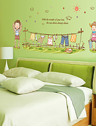 People Wall Stickers Plane Wall Stickers Decorative Wall Stickers,Vinyl Material Home Decoration Wall Decal