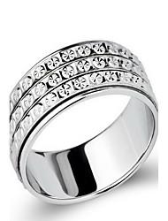 Ringe Ohne Stein Party Alltag Schmuck Sterling Silber Damen Ring 1 Stück,13 15 18 21 22 23 Silber