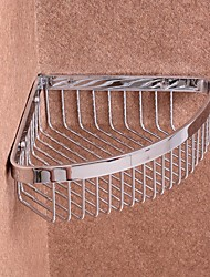 Bathroom Shelf / ChromeStainless Steel /Contemporary