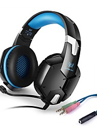 G1200 Stereo Over-ear Gaming Headset Headphones with Microphone For PS4 PC Computer Laptop Mobile Phones