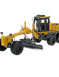 Construction Vehicle Toys Car Toys 1:28 Plastic Metal ABS Yellow Model & Building Toy