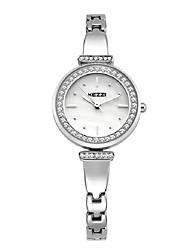 KEZZI Damen Modeuhr Armband-Uhr Quartz Japanischer Quartz Legierung Band Bequem Elegante Silber Rotgold Gold Silber Rose