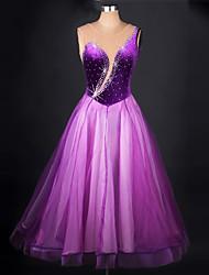 Devrions-nous des robes de danse de balle femme chinlon organza épicé robe