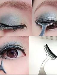 1pc nieuwe valse wimpers krultang uitbreiding lash mascara applicator remover staal pincet clip para make-up tool heet gift