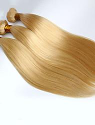 3pcs 7A Bleach Blonde 613 Virgin Hair Extension Brazilian Vingin Hair Straight Brazilian Human Hair Weave Bundles Hair