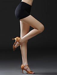 Baile Latino Pantalones y Faldas Mujer Entrenamiento Viscosa 1 Pieza Cintura Media Pantalones cortos