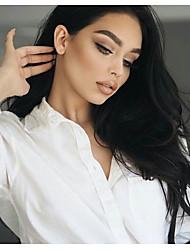 peluca 8 al 26 pulgadas venta caliente brasileña humana del pelo virginal cordón lleno con el pelo del bebé al por mayor para la mujer