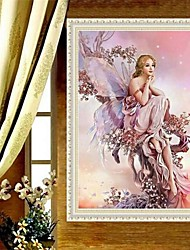 1Pcs 45*32cm 5D DIY Diamond Painting Diamond Embroidery Cross Stitch Angel Picture Home Decoration 5D Needlework Diamond Mosaic