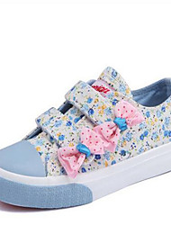 Girl's Sneakers Comfort Canvas Casual Blue Purple