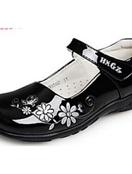 Girl's Flats Comfort PU Casual Black