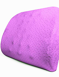 Massage Cushions Memory Cotton Slow Rebound Car Velvet Lumbar Cushions
