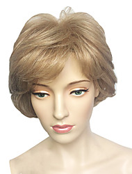 Blonde Wig Short Wig Women's Cosplay Wigs Costume Wig Feature Material Wigs Synthetic Wig With Cap