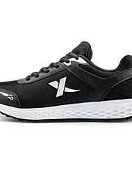 X-tep Sneakers Men's Wearproof Outdoor Low-Top Full-grain Leather Perforated EVA Running/Jogging