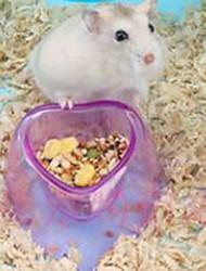 Roedores Tigelas e Bebedouros Plástico Azul Púrpura Cor de Rosa
