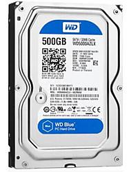 WD 500GB Área de trabalho do disco rígido 7200 SATA 3.0 (6Gb / s) 32MB esconderijoWD5000AZLX