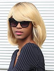 forma de gradiente de color bobo que prevalece la peluca del pelo humano del pelo