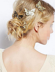 1 Pcs Butterfly Hairpin Hair Accessories Left And Right Edge Clip