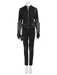 Cosplay Costumes Halloween Props Party Costume Masquerade Super Heroes Cosplay Movie Cosplay Black SolidCoat Pants Gloves Belt Boots More
