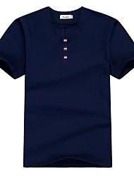 2017 été nouveaux hommes&t-shirt à manches courtes korean mince col rond t-shirt jeunes hommes étudiants marée de # 39;