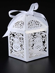25pcs/sets owl candy box baby shower party gift box birthday party decorations kids paper box