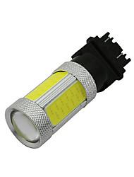 2x3157 3156 cob levou inverter luz apoio para a Ford f150 ranger de alta potência 25w branco