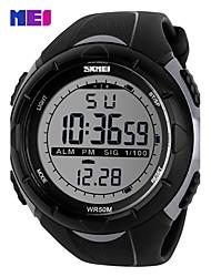 Men's Women's Unisex Sport Watch Fashion Watch Wrist watch Digital Watch Quartz Digital Silicone Band Casual Multi-Colored