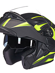 GXT 902 Motorcycle Electric Cars Double Lens Anti-Fog Open Face Helmet Full Cover Unisex Colorful
