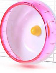 Грызуны Колесо для упражнений Пластик Синий Розовый Желтый