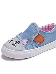 Girl's Loafers & Slip-Ons Comfort Canvas Casual Blue Light Blue