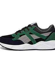Running Shoes Men's Shoes Office & Career / Athletic / Casual Fashion Sneakers Black / Gray / Green