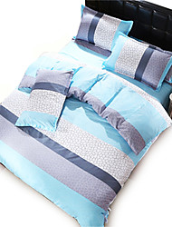 4PC Duvet Cover Sets Polyester Floral Pattern