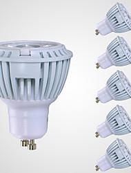 7W GU10 Точечное LED освещение MR16 1 COB 520 lm Тёплый белый AC 110-130 V 6 шт.