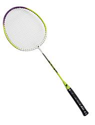 Raquettes de badminton(Blanc Vert,Nylon) -Durable