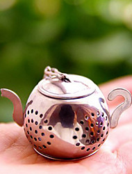 Stainless Steel Tea Strainer Creative Tea Strainer The Teapot Tea Strainer Specializing In the Production of tea Strainer Multifunctional tea Ball