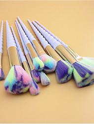 10 Concealerkwast Waaierkwast Poederkwast Foundationkwast Contour Brush Brush Sets Blushkwast Lippenkwast Wenkbrauwkwast Synthetisch haar
