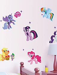 1Pcs 50Cm*70Cm  Kid Wall Stickers My Little Pony    Wall Sticker Girls Sticker For Kids Room