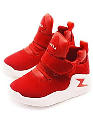 Girl's Sneakers Comfort PU Casual Blue Red