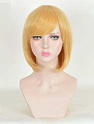 Cosplay Wigs Superstar Movie Cosplay Yellow Wig Halloween Christmas Carnival Male