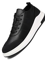 Femme-Sport-Noir Bleu-Talon Plat-Autre-Chaussures d'Athlétisme-Cuir