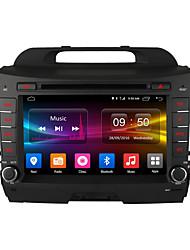 Ownice c500 pantalla de alta definición de 8 pulgadas 1024 * 600 de cuatro núcleos androide 6.0 jugador del coche DVD GPS para Kia