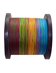 100M / 110 Yards PE Braided Line / Dyneema / Superline Fishing Line Assorted Colors 32LB 0.22 mm For General Fishing