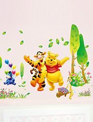 Winnie The Pooh Tigger Wall Stickers Cartoon Children's Bedroom Wall Decals